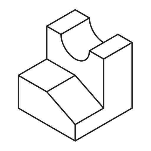 Proyecciones isométricas en Illustrator