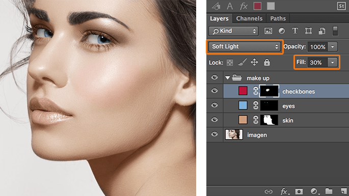 maquillaje-en-photoshop-usando-modos-de-fusion-add-solid-color-checkbones-finish