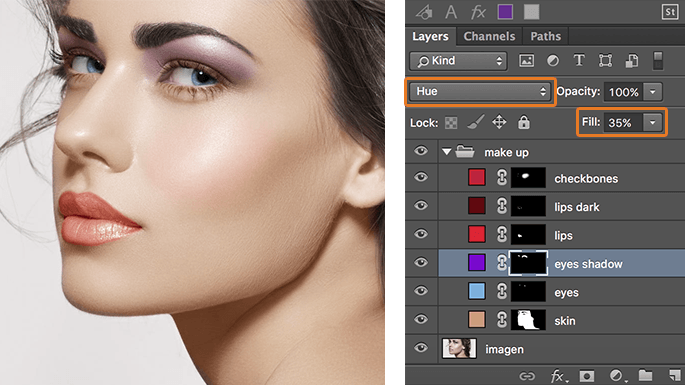 maquillaje-en-photoshop-usando-modos-de-fusion-add-solid-color-eyeshadow-finish