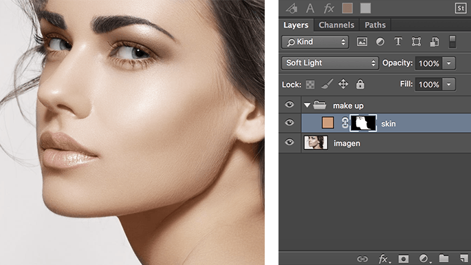 maquillaje-en-photoshop-usando-modos-de-fusion-add-solid-color-skin-finish