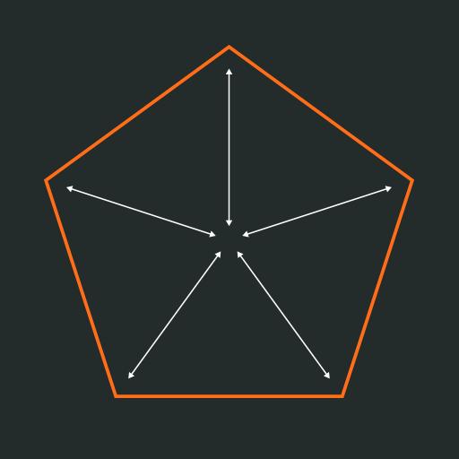 Hallar centro de un polígono regular en Illustrator